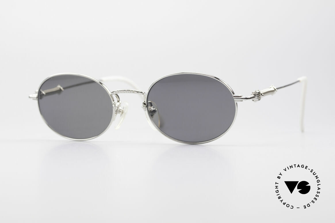 Jean Paul Gaultier 55-6101 Polarized Oval Sunglasses