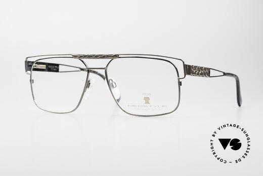 Neostyle Dynasty 430 80's Titanium Eyeglasses Men Details