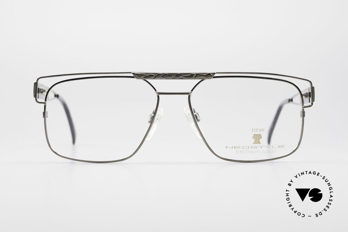 Neostyle Dynasty 430 80's Titanium Eyeglasses Men, top-notch craftsmanship (pure Titanium frame), Made for Men