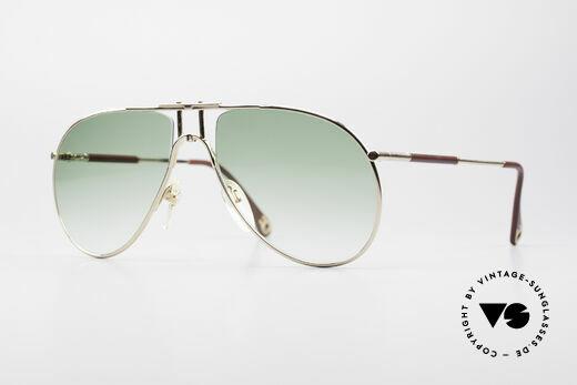 Aigner EA3 Rare 80's Vintage Sunglasses Details