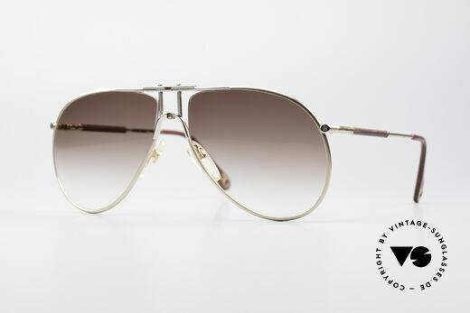 Aigner EA4 Rare 80's Luxury Sunglasses Details