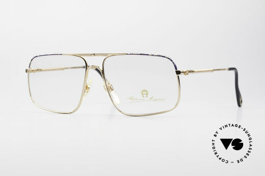 Aigner EA23 Rare 80's Vintage Eyeglasses Details