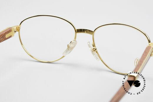 Cartier Auteuil Precious Wood Panto Glasses