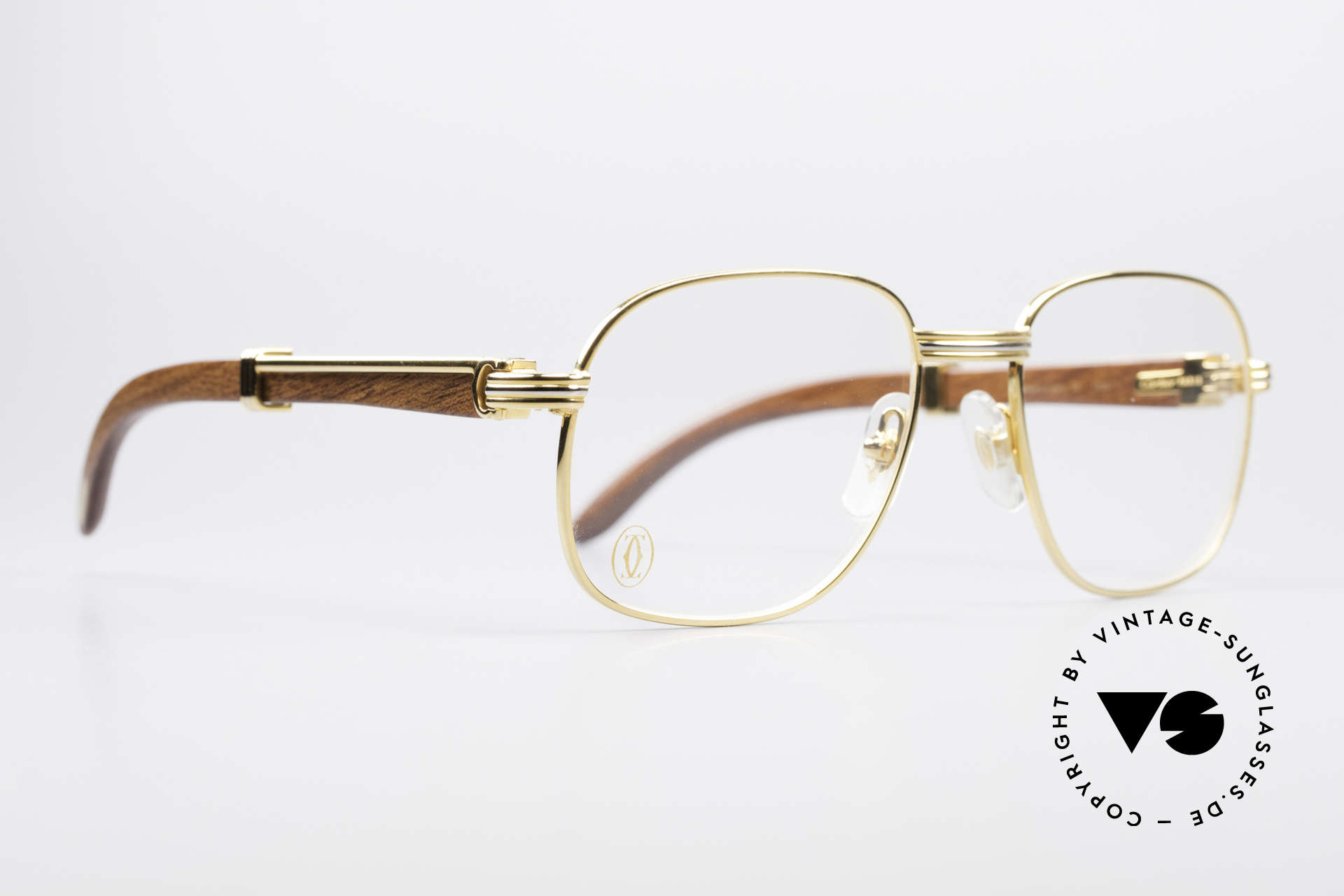 89c16c6eb0694 Glasses Cartier Monceau Bubinga Precious Wood Glasses