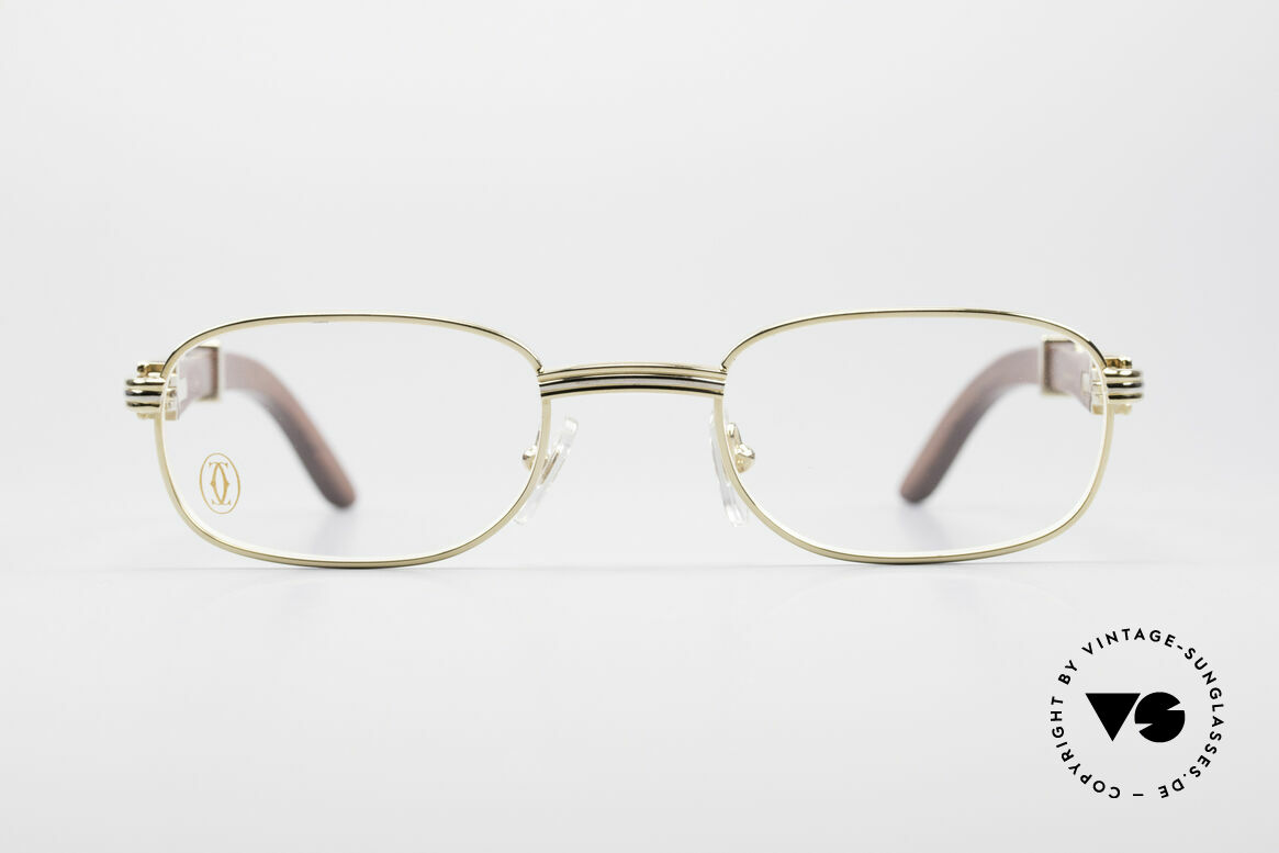 Cartier Breteuil Rare Luxury Wood Eyeglasses