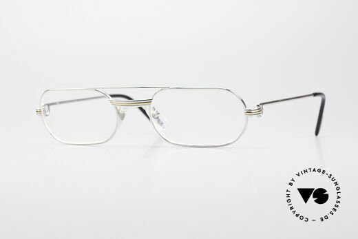 Cartier MUST LC Limited Luxury Frame Platinum Details