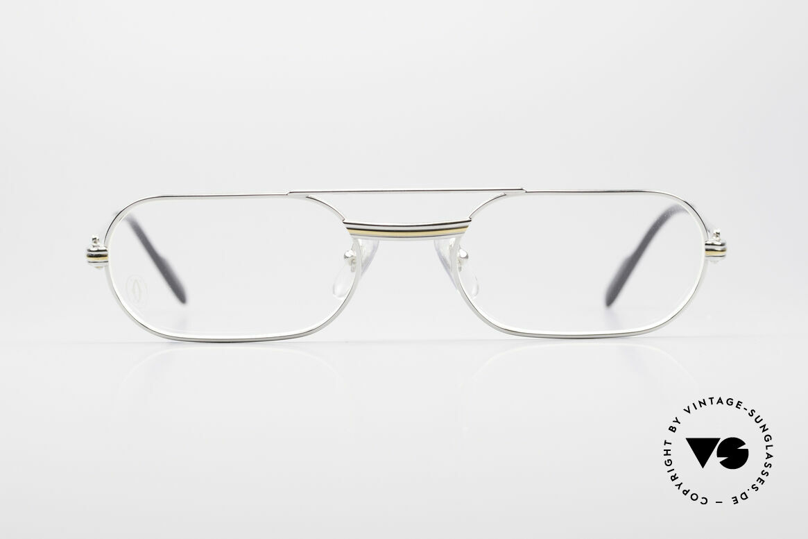 Cartier MUST LC Limited Luxury Frame Platinum, MUST: the first model of the Lunettes Collection '83, Made for Men