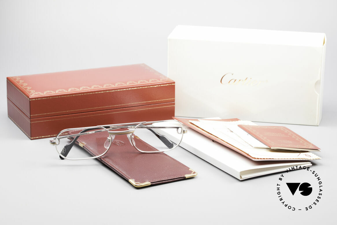Cartier MUST LC Limited Luxury Frame Platinum