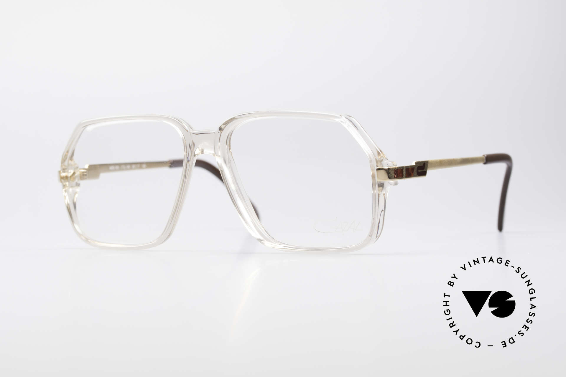 Cazal 625 West Germany 80's Eyeglasses, model from the late 70's / early 80's by CAri ZALloni, Made for Men