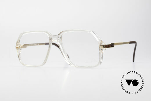 Cazal 625 West Germany 80's Eyeglasses Details