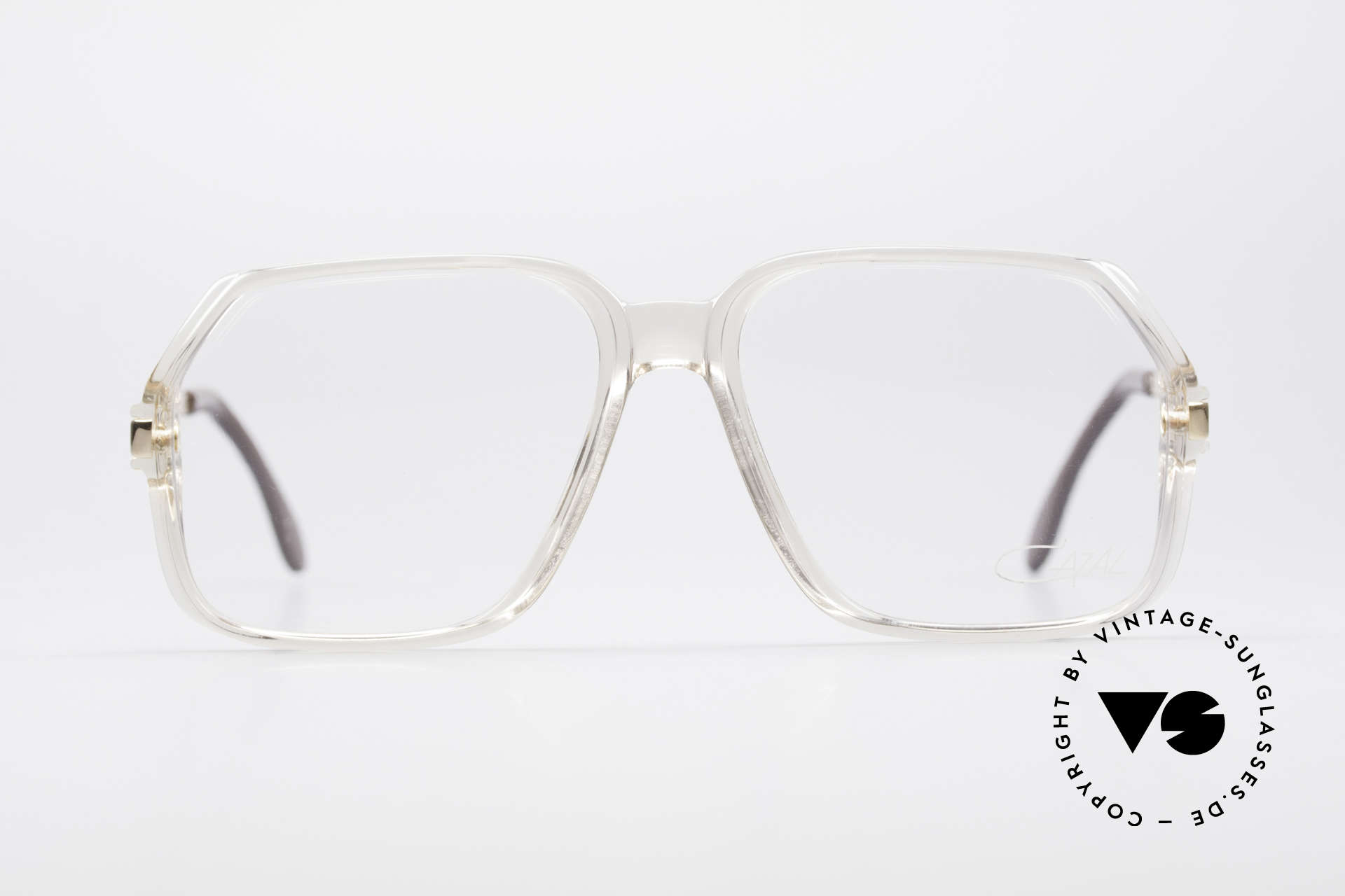 Cazal 625 West Germany 80's Eyeglasses, rarity (with the old CAZAL logo), true Hip Hop style, Made for Men