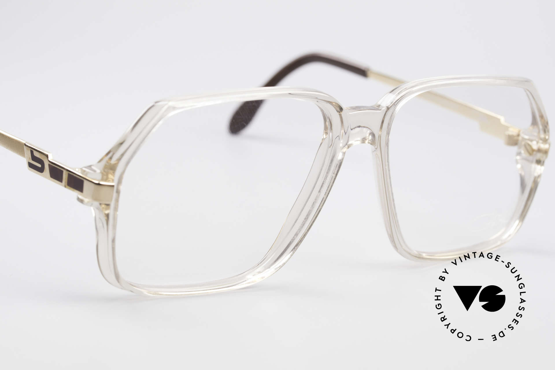 Cazal 625 West Germany 80's Eyeglasses, NO retro eyeglass-frame, but an 'old school' original, Made for Men