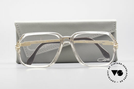Cazal 625 West Germany 80's Eyeglasses, clear Cazal DEMO lenses can be replaced optionally, Made for Men