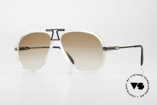 Cazal 622 Vintage 80's Aviator Sunglasses Details