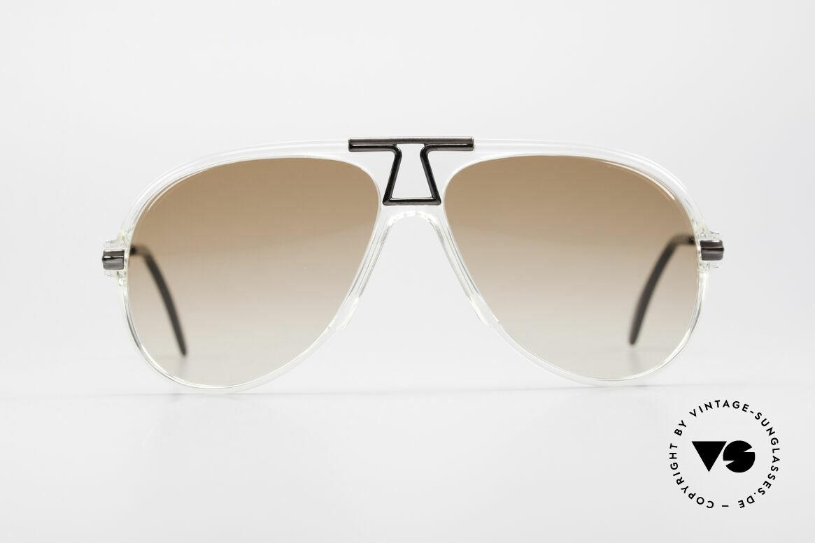 Cazal 622 Vintage 80's Aviator Sunglasses, precious original from app. 1984 (Frame W.Germany), Made for Men
