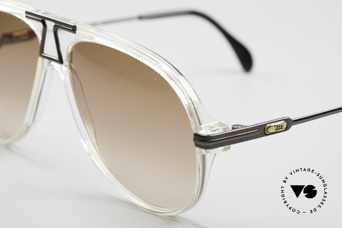 Cazal 622 Vintage 80's Aviator Sunglasses, new old stock, NOS (like all our rare vintage Cazals), Made for Men