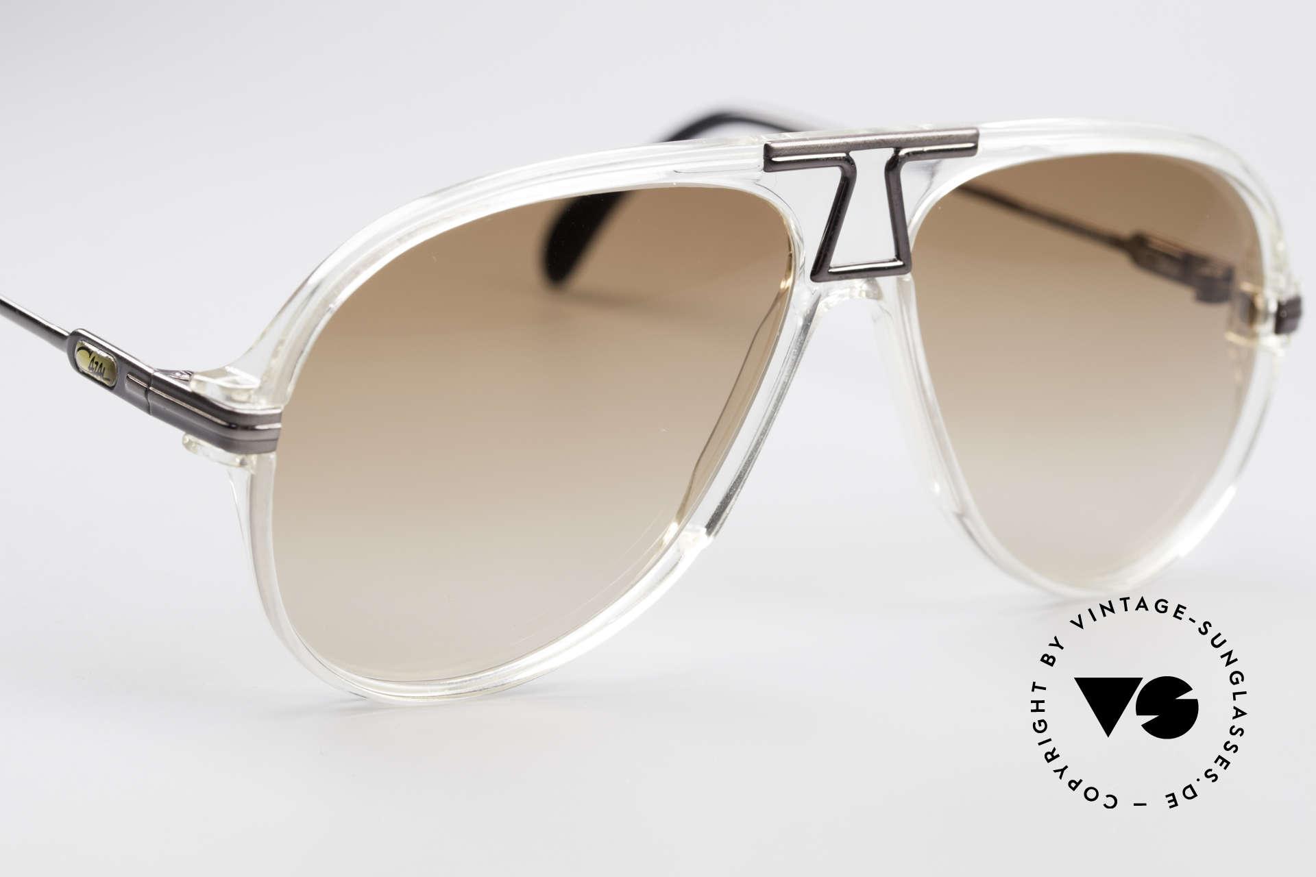 Cazal 622 Vintage 80's Aviator Sunglasses, NO retro fashion, but a 30 years old original (unique), Made for Men
