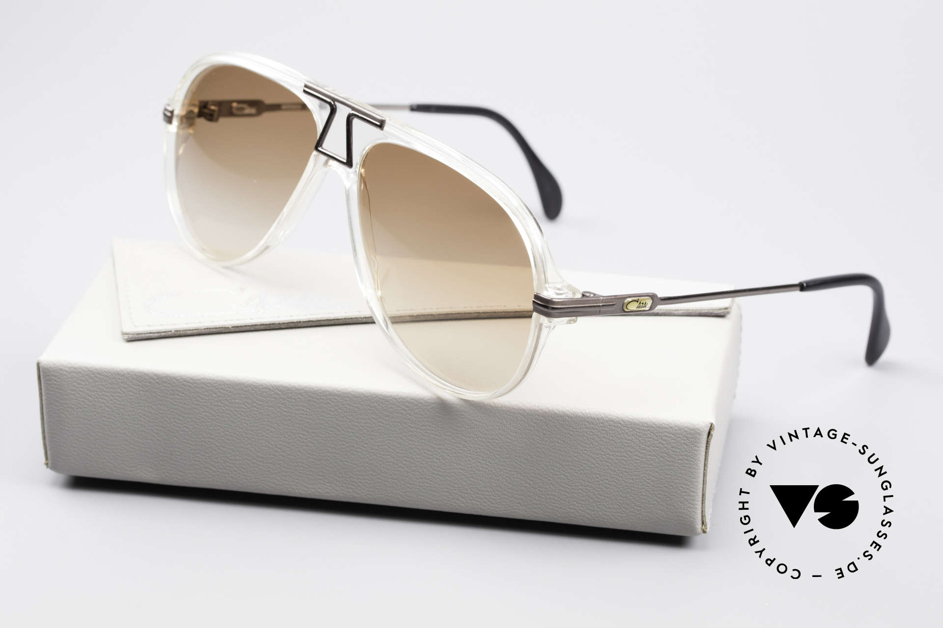 Cazal 622 Vintage 80's Aviator Sunglasses, Size: medium, Made for Men