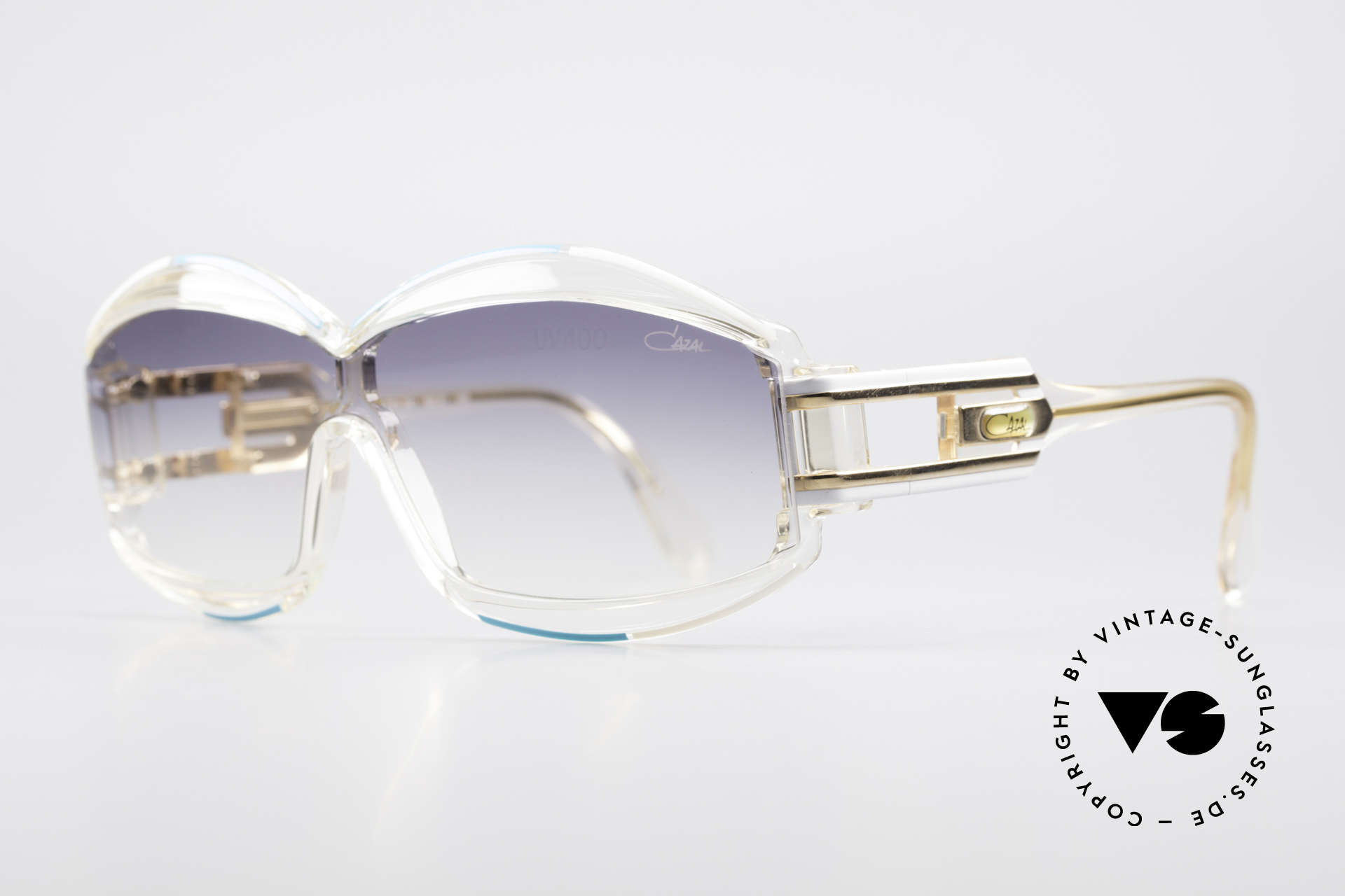 Cazal 857 True 80's Hip Hop Shades, made in Passau, Bavaria (1986), 'FRAME W.GERMANY', Made for Men and Women