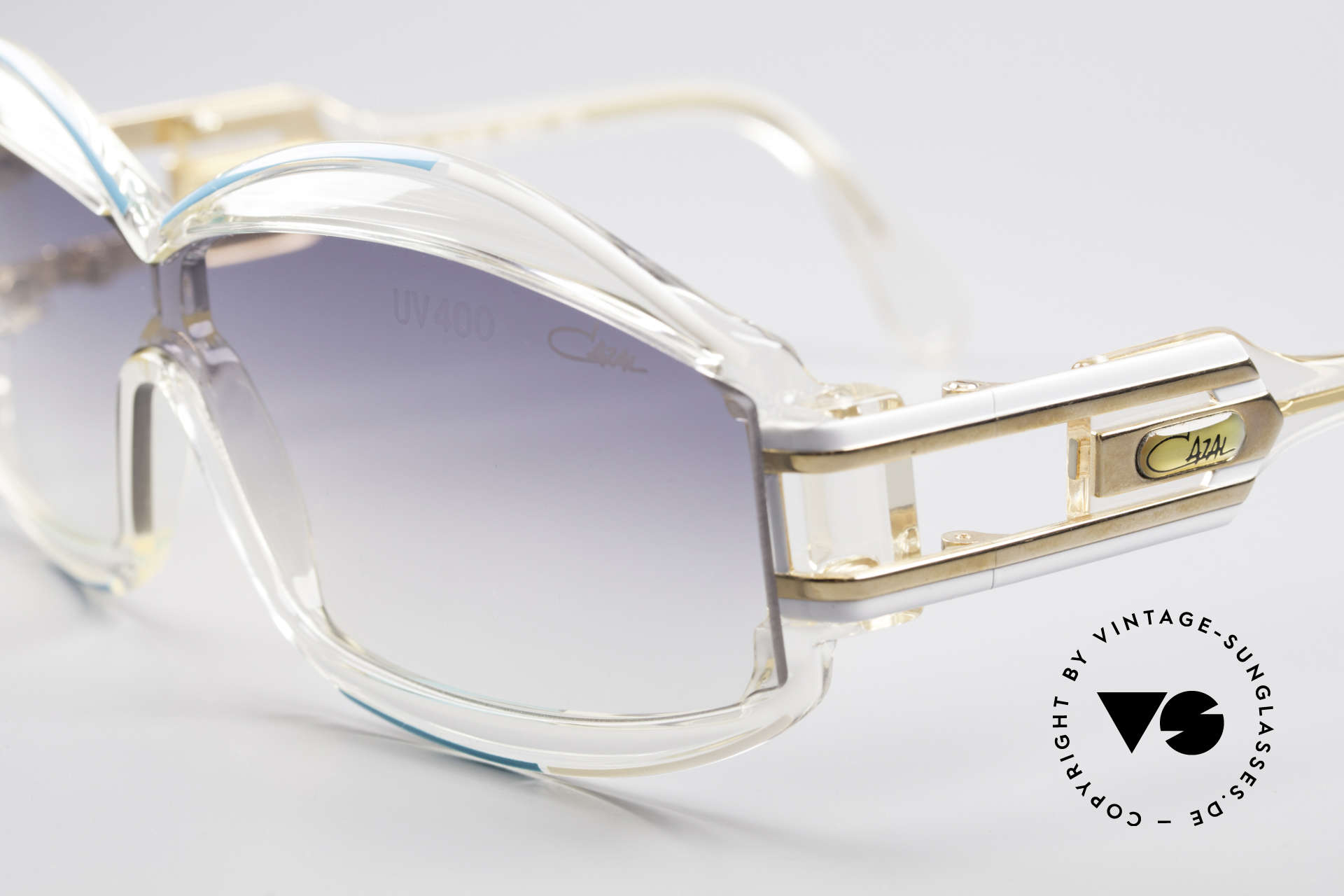 Cazal 857 True 80's Hip Hop Shades, just a true eye-catcher - simply unique and glamorous, Made for Men and Women