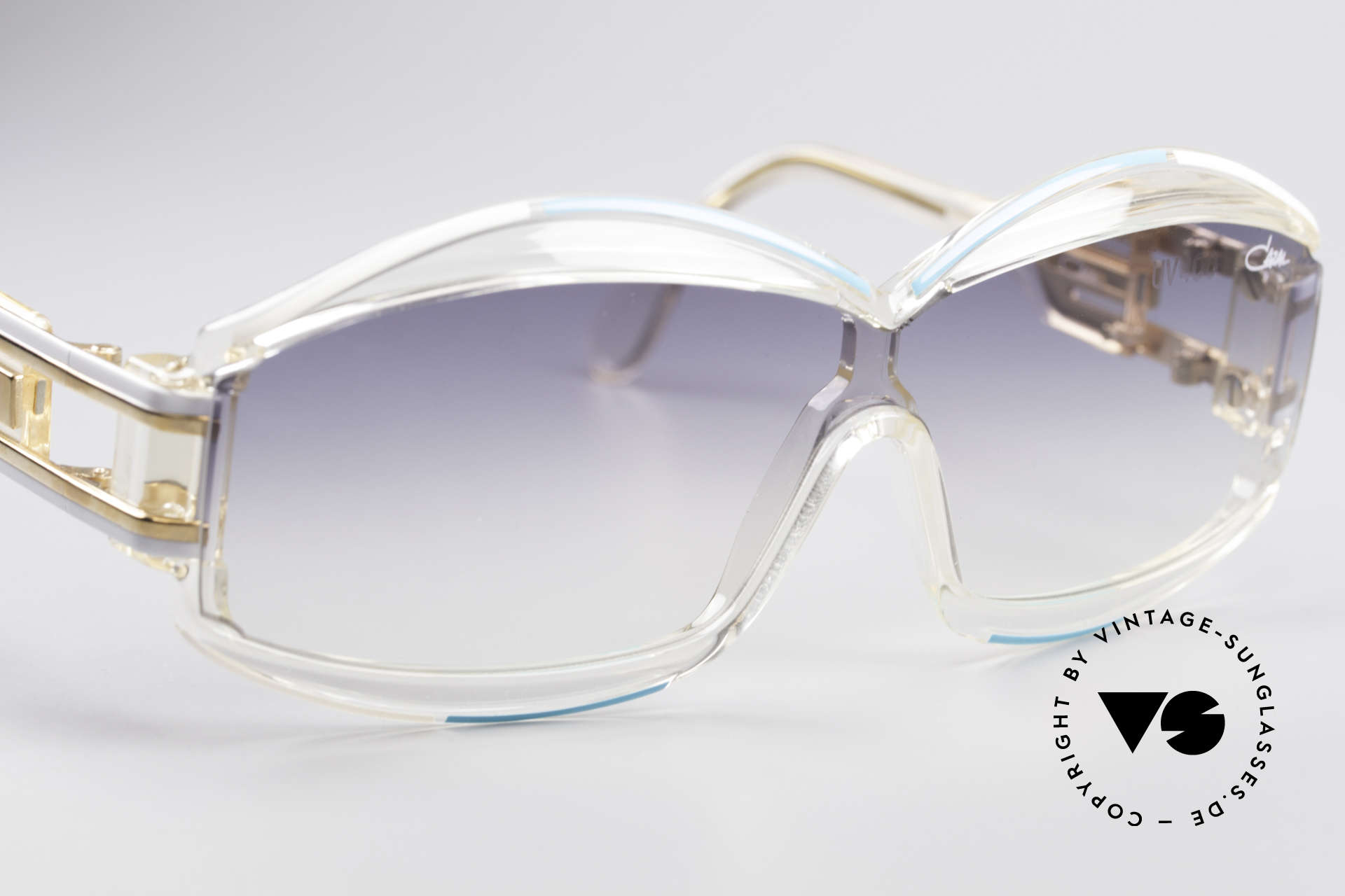 Cazal 857 True 80's Hip Hop Shades, new old stock (like all our rare vintage Cazal eyewear), Made for Men and Women