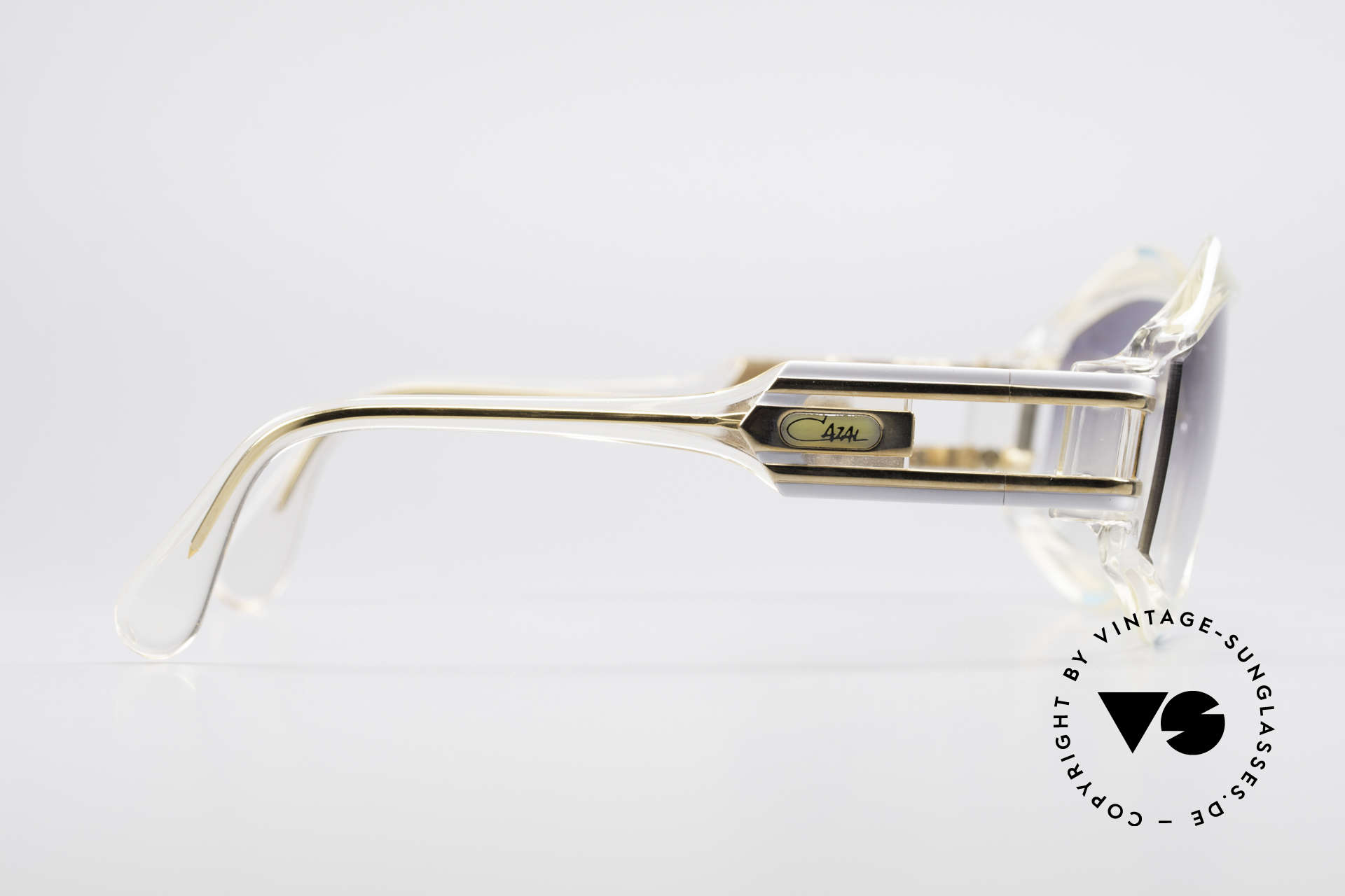 Cazal 857 True 80's Hip Hop Shades, NO retro sunglasses, but a 30 years old Cazal original, Made for Men and Women
