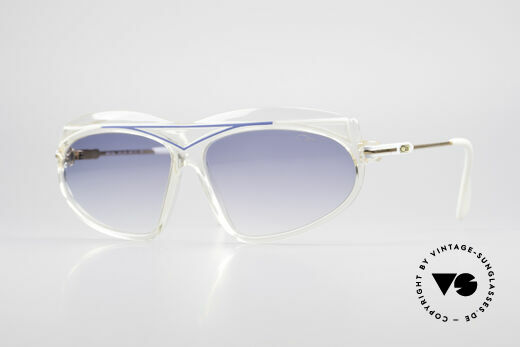 Cazal 854 True Vintage XL HipHop Shades Details