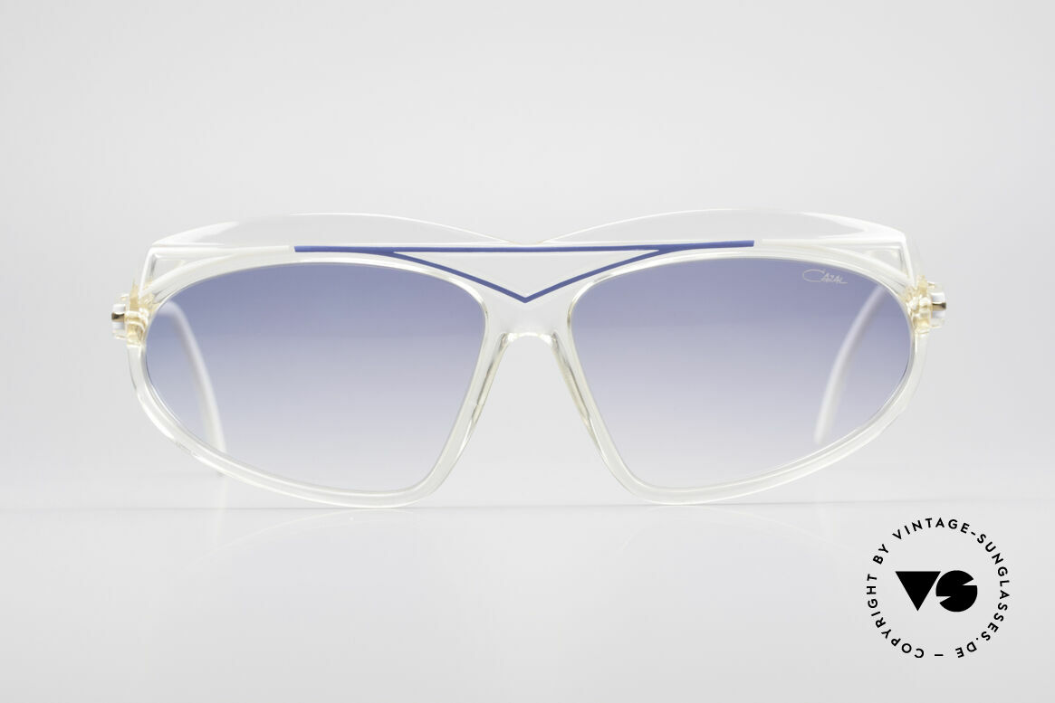 Cazal 854 True Vintage XL HipHop Shades, part of the famous US HIP-HOP scene in the 1980's, Made for Women