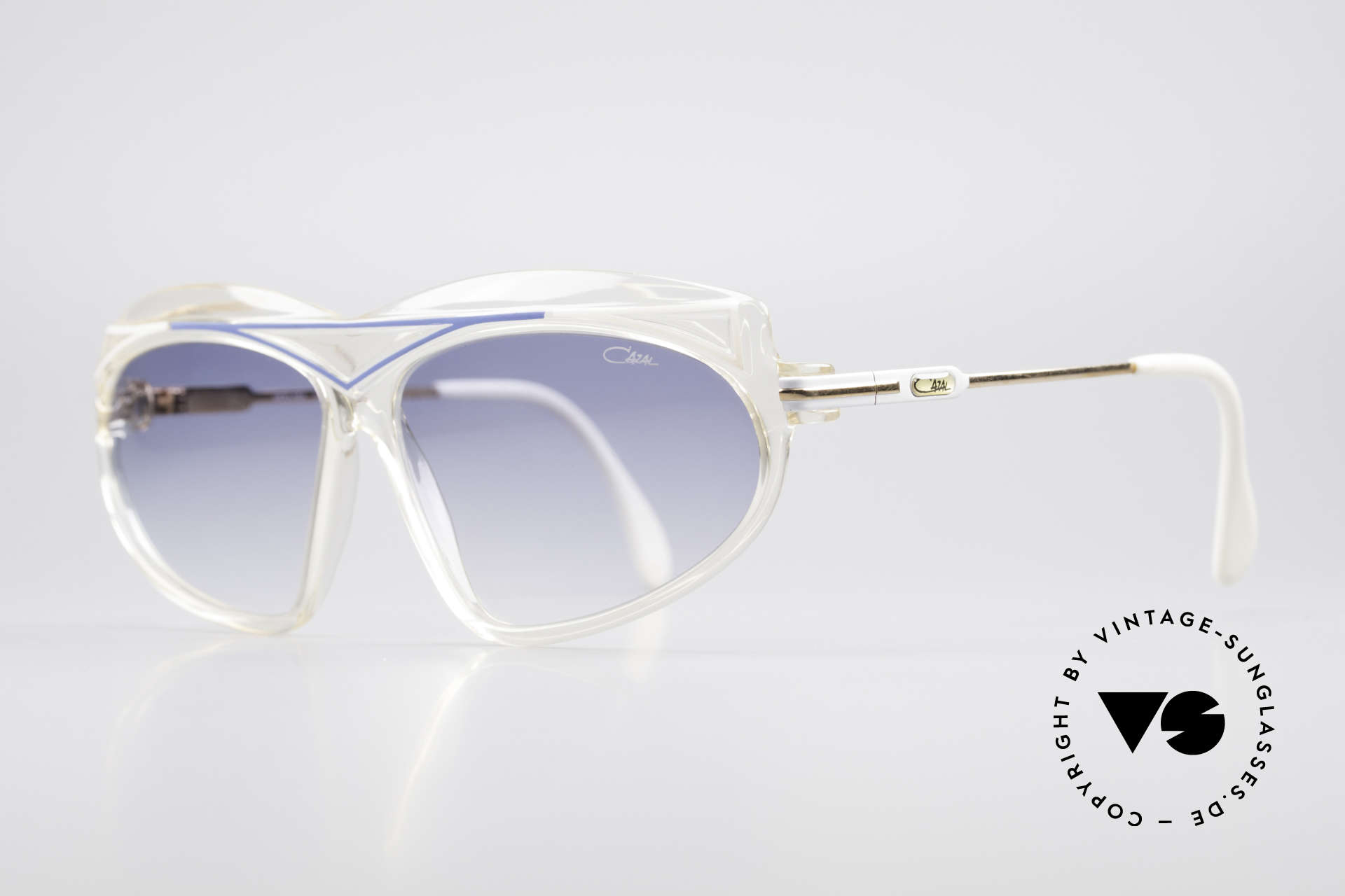 Cazal 854 True Vintage XL HipHop Shades, distinctive designer shades by CAri ZALoni = CAZAL, Made for Women