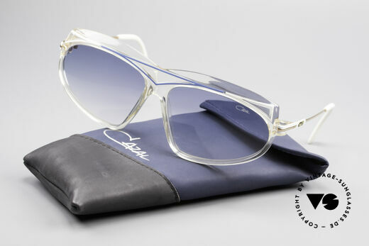 Cazal 854 True Vintage XL HipHop Shades, NO retro sunglasses but a 30 years old vintage original, Made for Women