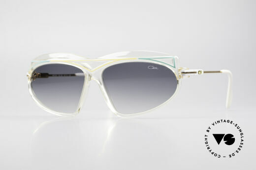 Cazal 854 XL True Vintage Hip Hop Shades Details