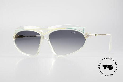 Cazal 854 XL 80er Jahre Hip Hop Brille Details