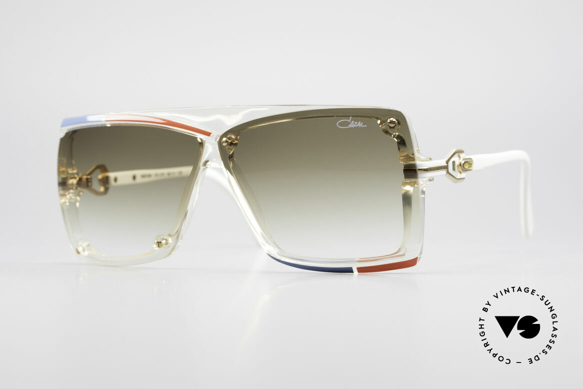 Cazal 859 West Germany 1980's Cazal, Cazal 859 = noble & extroverted in combination, Made for Men and Women