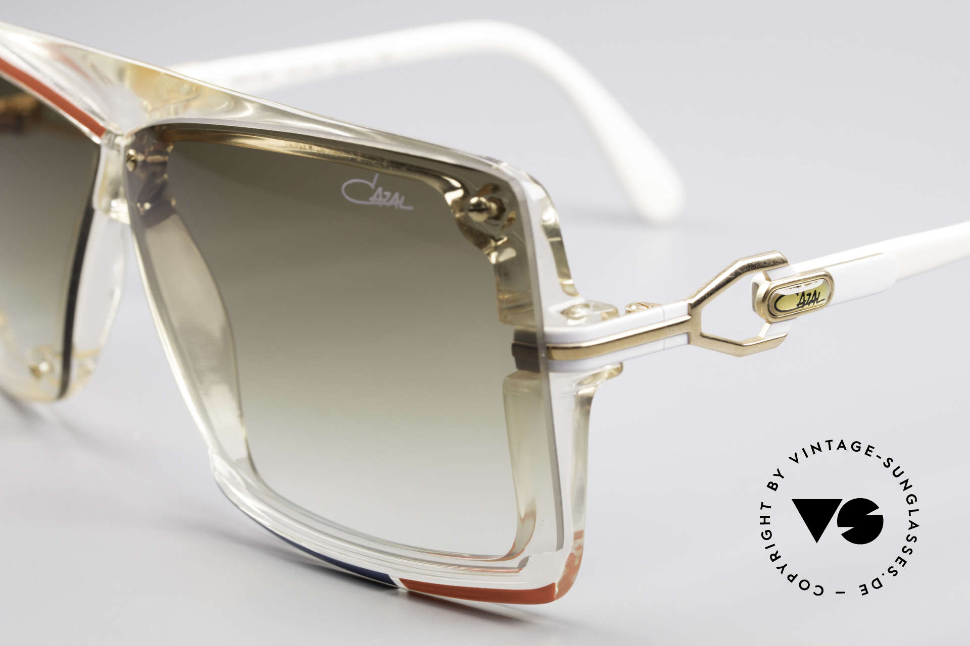 Cazal 859 West Germany 1980's Cazal, new old stock (like all our vintage Cazal shades), Made for Men and Women