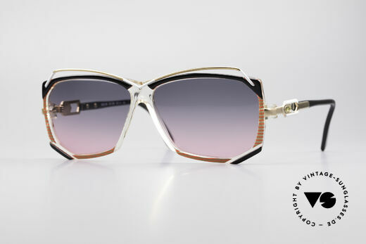 Cazal 188 Vintage Sunglasses Ladies Details