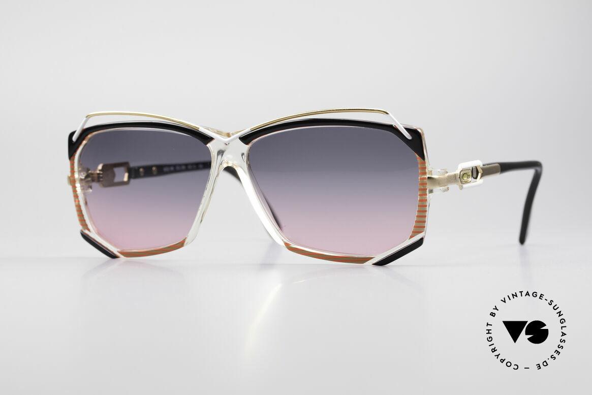 Cazal 188 Vintage Sunglasses Ladies, glamorous Cazal designer sunglasses from the 1980's, Made for Women
