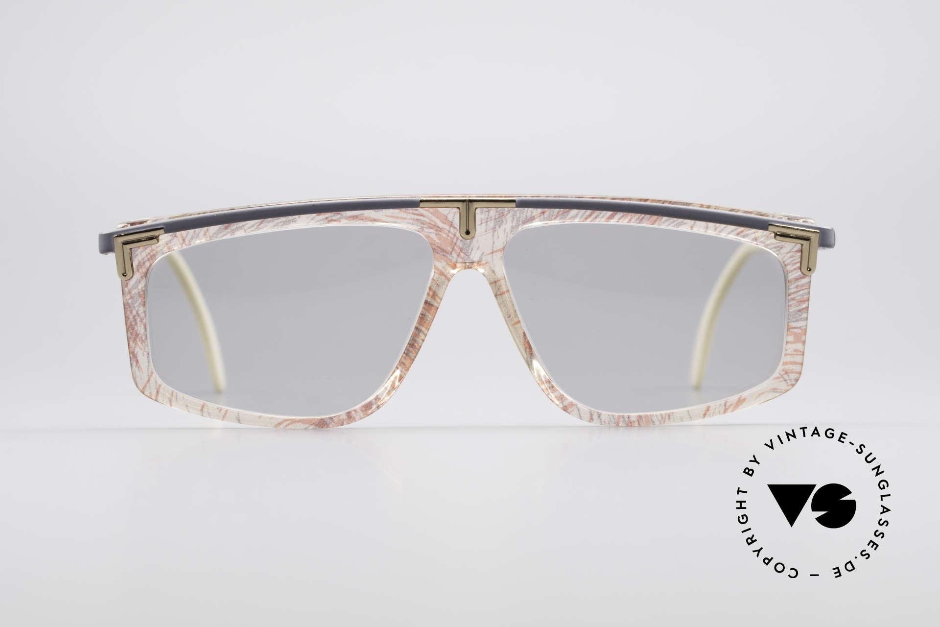 Cazal 190 Old School Hip Hop 1980's, flashy frame pattern by designer Cari Zalloni (CAZAL), Made for Men and Women