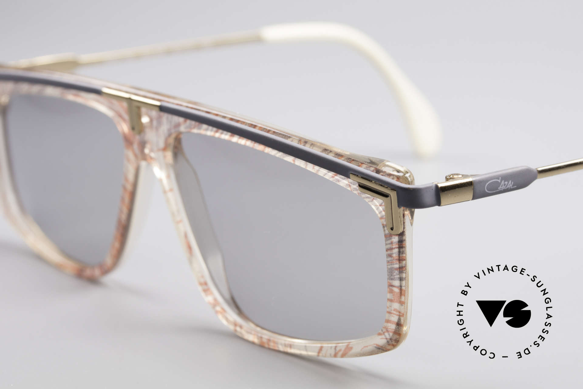 Cazal 190 Old School Hip Hop 1980's, unworn (like all our rare vintage 80's eyewear by Cazal), Made for Men and Women