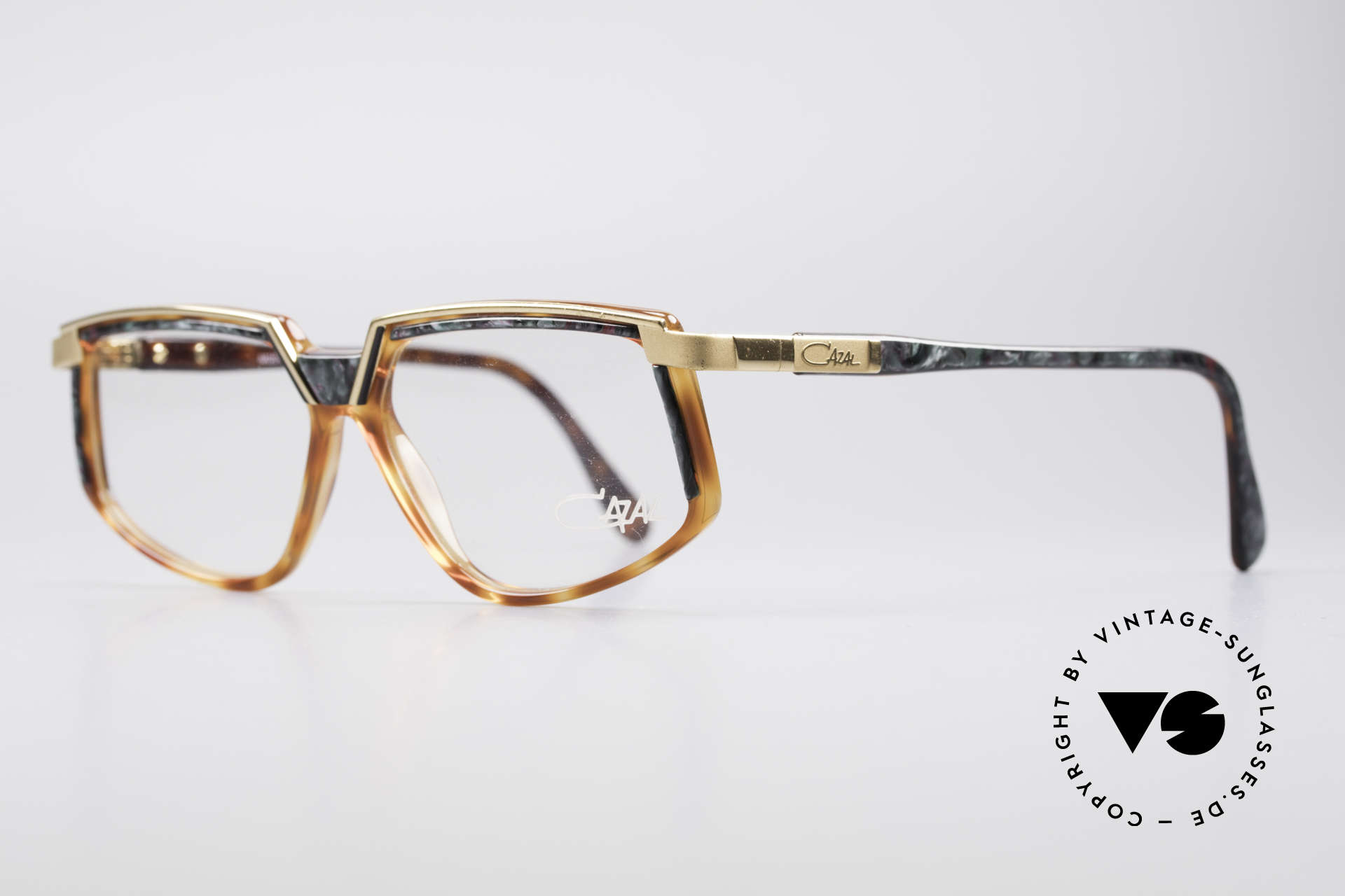 Cazal 337 Vintage Frame No Retro Cazal, best craftmanship and top comfort (frame Germany), Made for Men and Women