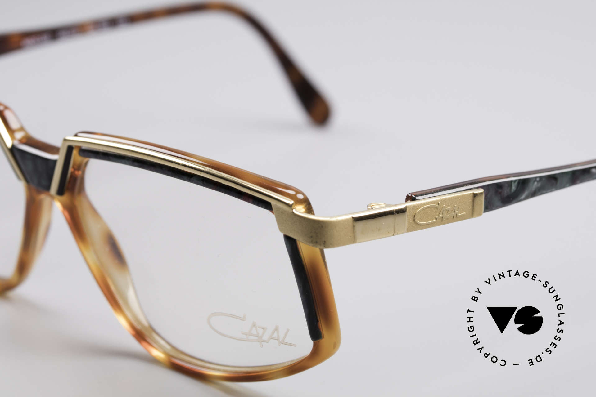 Cazal 337 Vintage Frame No Retro Cazal, fancy material combination (metal plastic), vintage, Made for Men and Women