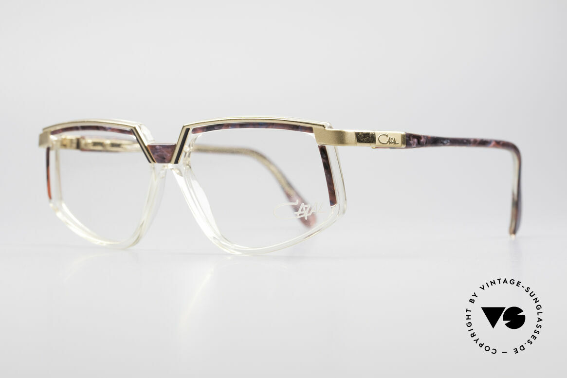 Cazal 337 Vintage Cazal No Retro Frame, best craftmanship and top comfort (frame Germany), Made for Women