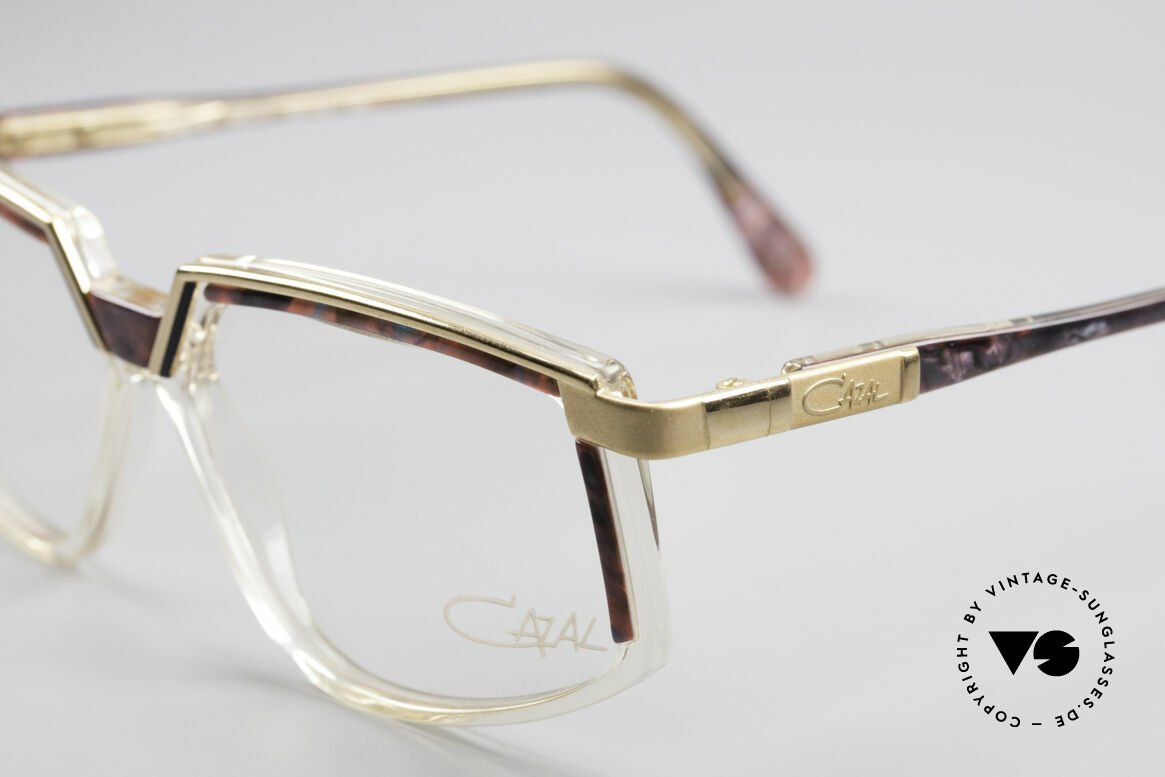Cazal 337 Vintage Cazal No Retro Frame, fancy material combination (metal plastic), vintage, Made for Women