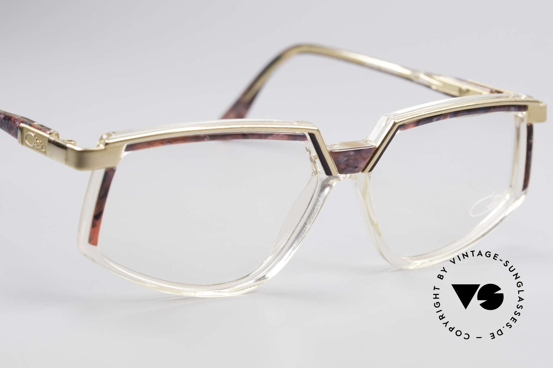 Cazal 337 Vintage Cazal No Retro Frame, unworn, NOS (like all our rare vintage Cazal eyewear), Made for Women