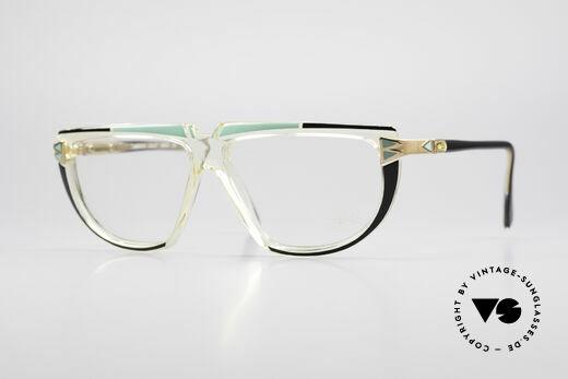 Cazal 316 True 80's Old School Glasses Details