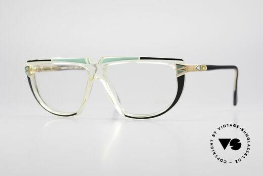 Cazal 316 True 80's Old School Glasses Details