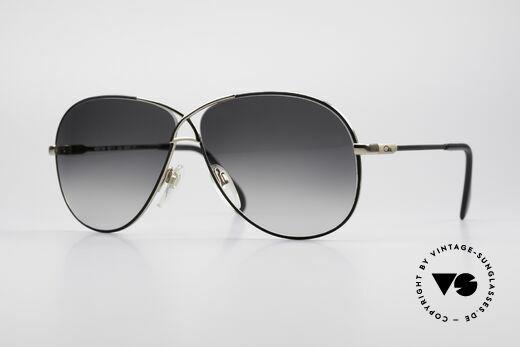 Cazal 728 Aviator Style Vintage Shades Details
