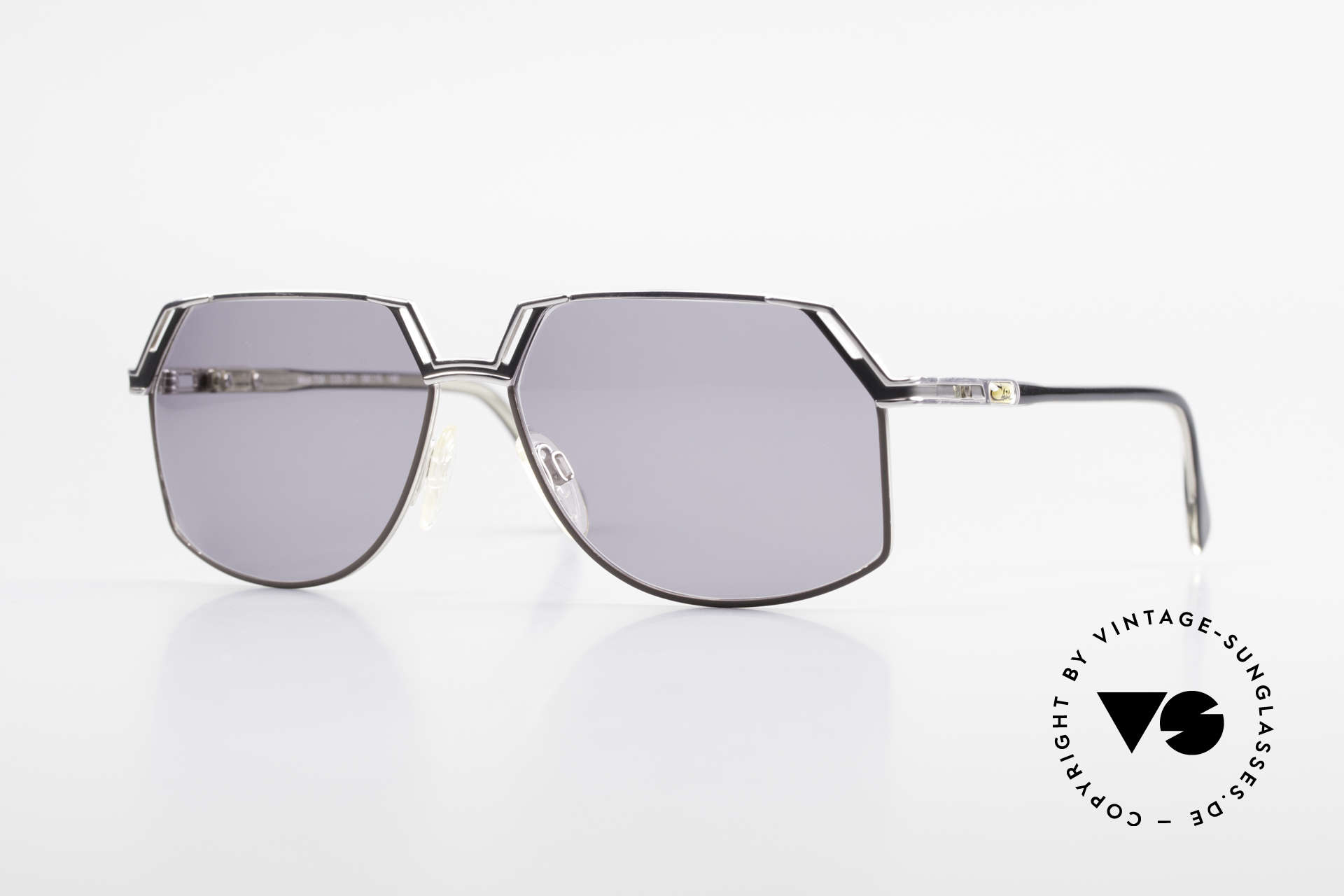 Cazal 738 True Vintage Sunglasses, distinctive CAZAL men's sunglasses of the 1980's/1990s, Made for Men