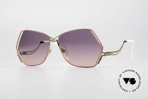 Cazal 226 Vintage Ladies Sunglasses Details
