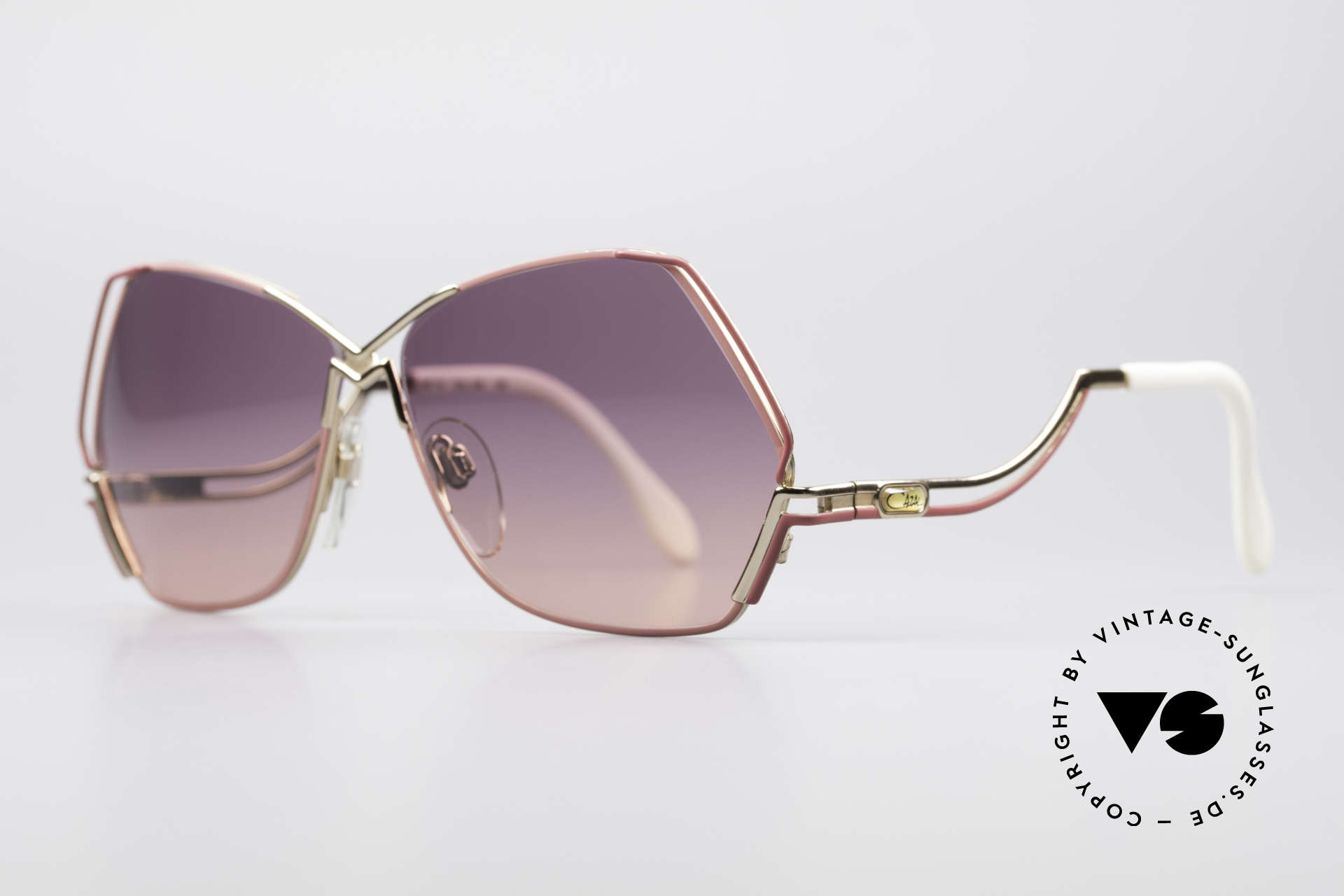 Cazal 226 Vintage Ladies Sunglasses, a true eye-catcher; just beautiful and simply unique, Made for Women