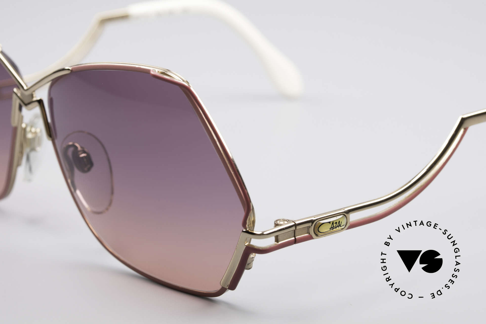 Cazal 226 Vintage Ladies Sunglasses, 80's frame (W.Germany), 90's frame (made in Germany), Made for Women